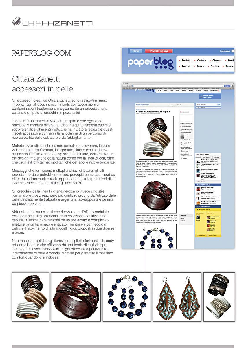 23-2012 PAPERBLOG.COM - Marzo