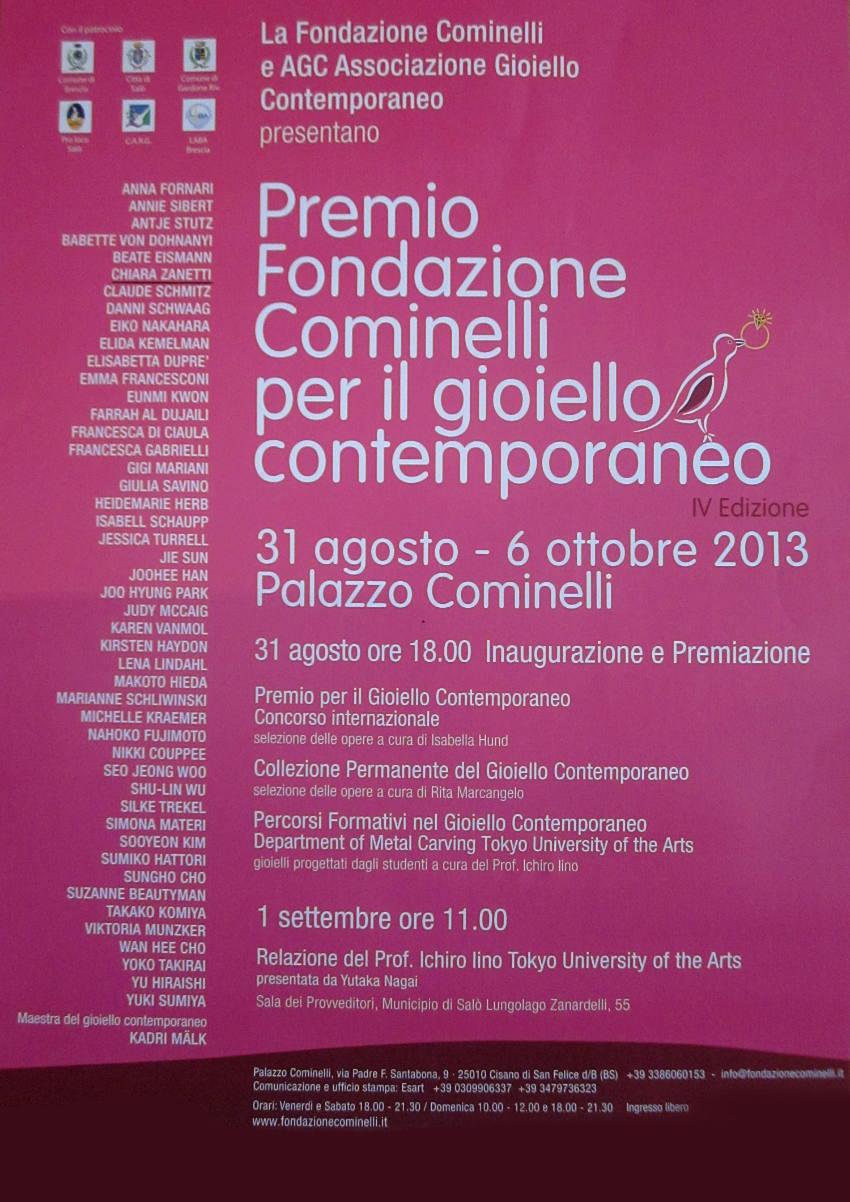 32-2013 PREMIO COMINELLI - Agosto